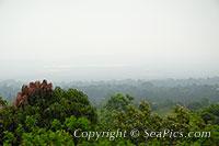 volcanic haze